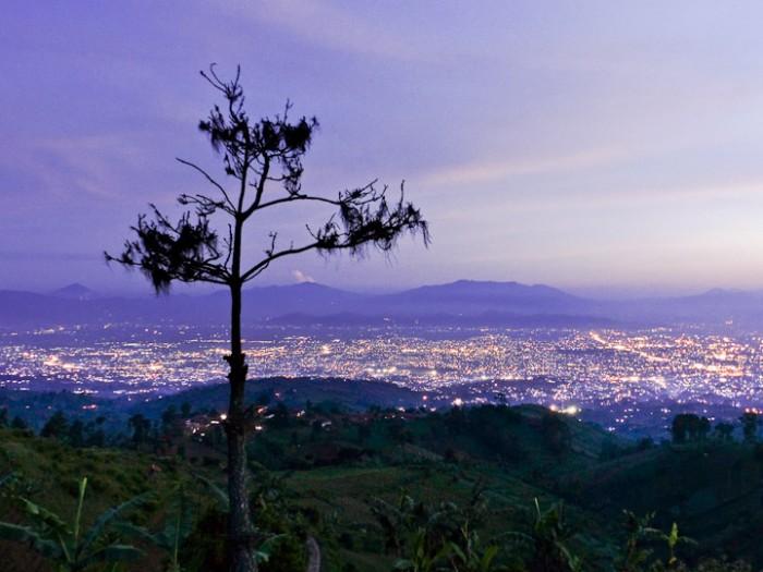 Bandung from Moko Hills