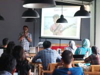 Workshop Travel Blogging #travelnblog 2 , materi fotografi. Bandung, Desember 2014
