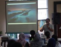 Workshop Travel Blogging #travelnblog, materi fotografi. Semarang, Maret 2015
