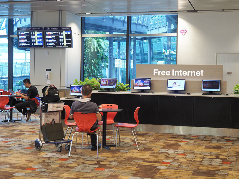 changi airport wifi
