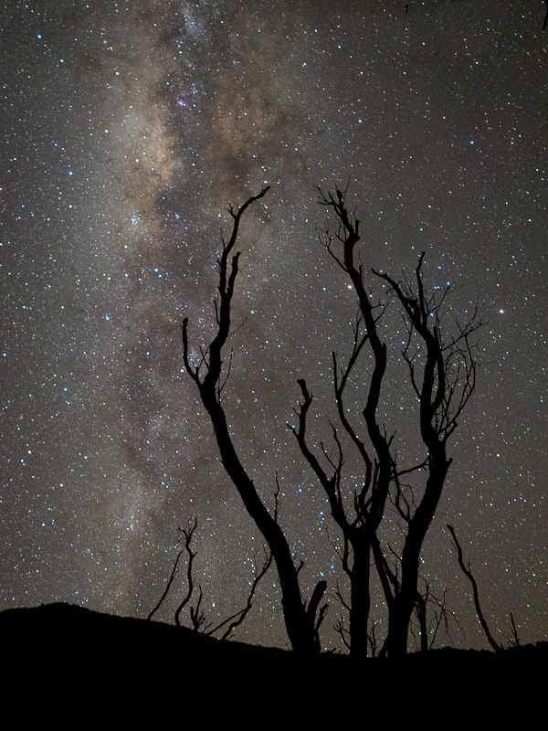 milky way papandayan