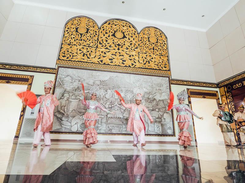 tari zapin palembang