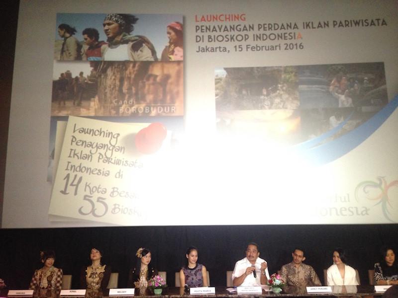 Peluncuran TVC Pesona Indonesia