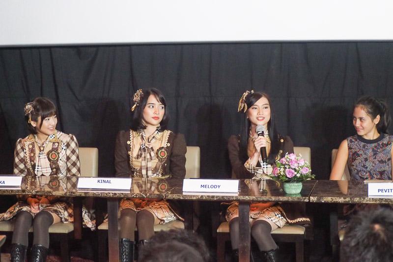 JKT48 brand ambassador Enjoy Jakarta