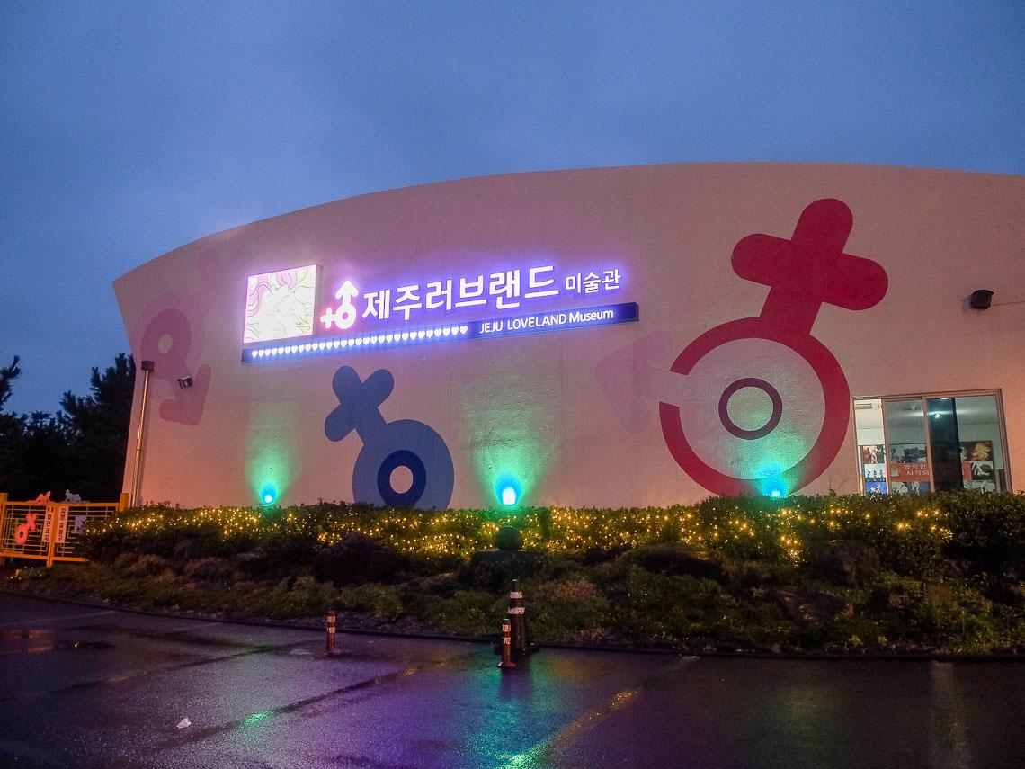 Jeju Loveland, Museum sex di Jeju Island
