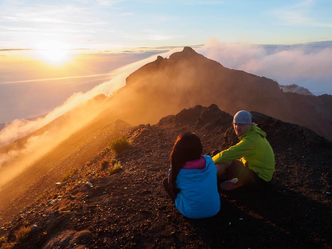 gunung agung sunrise