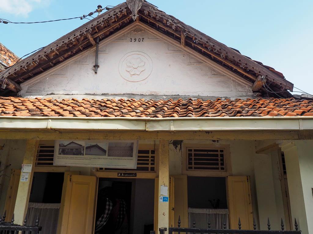 Salah satu rumah tua di Maspati