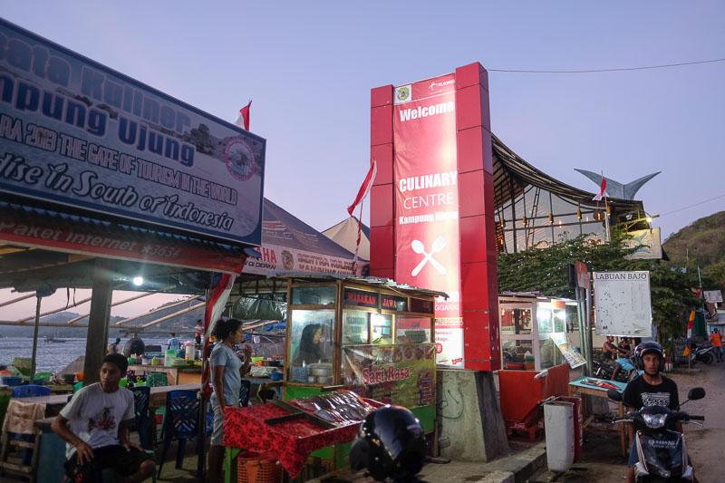 Pusat Kuliner Labuan Bajo Kampung Ujung