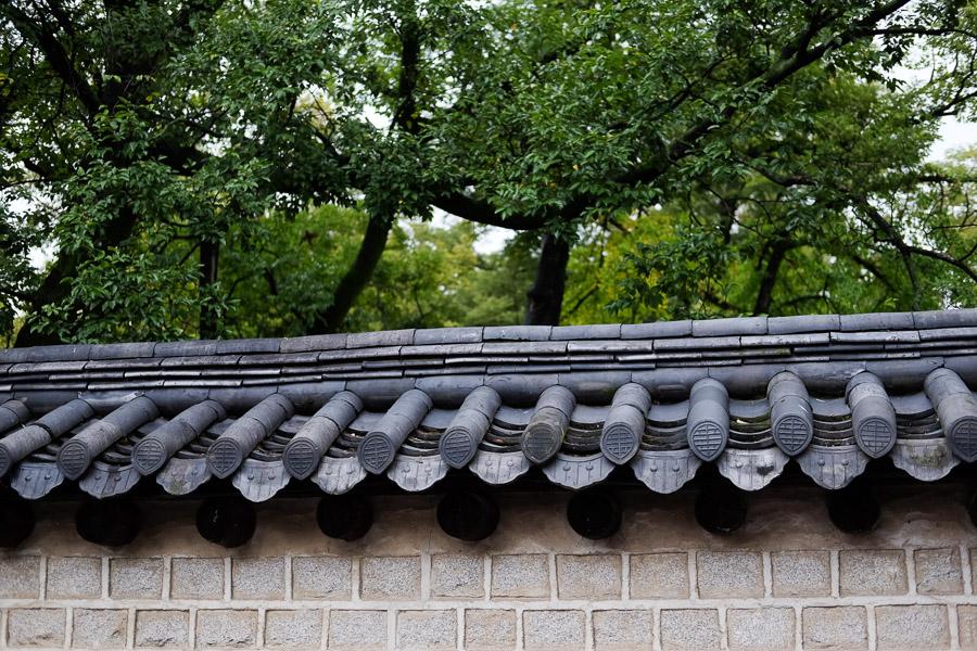 Atap tradisional korea ini cantik!