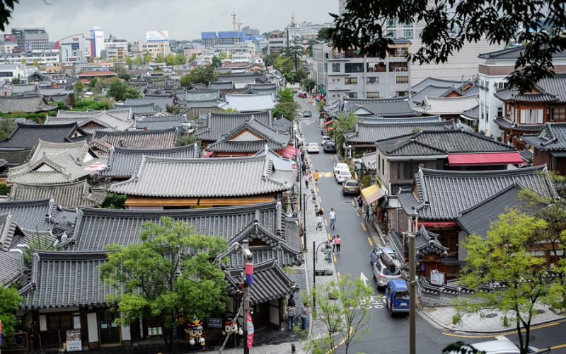 Pakai Baju 'Hanbok' Tradisional Korea di Jeonju Hanok Village ( Korea Trip part 3)