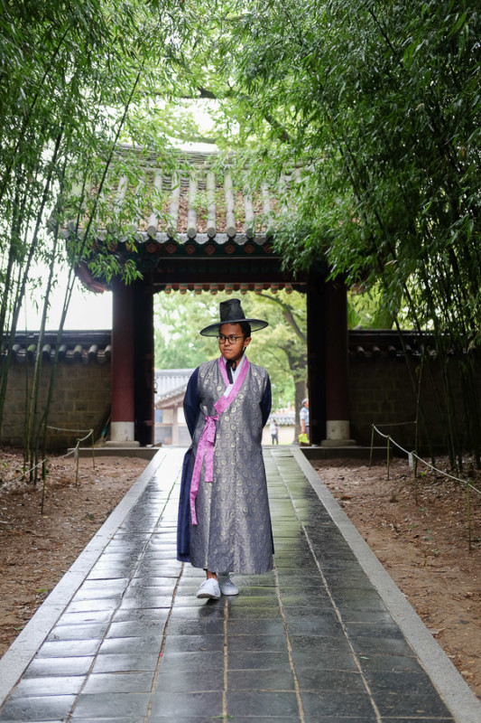 Jeonju Hanok Village Hanbok Dress