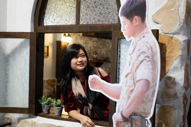 descendant of the sun exhibition
