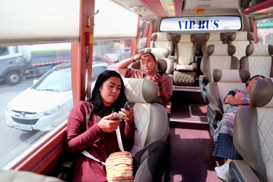 Naik VIP bus macam orang penting