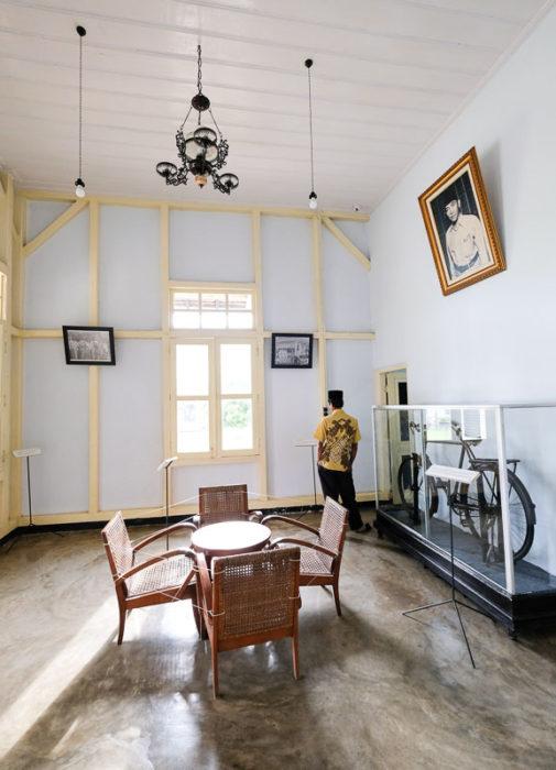 Ruang Tamu rumah pengasingan bung karno